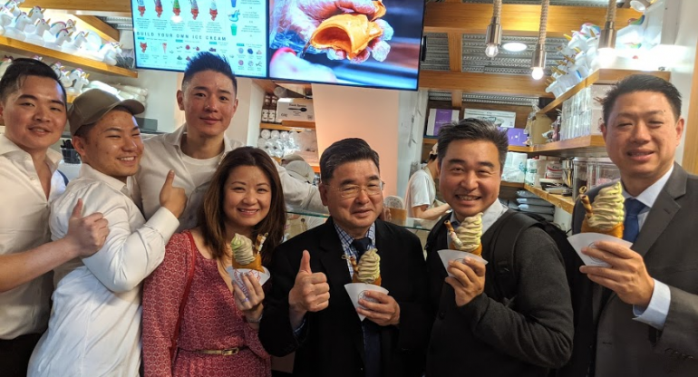 Grand Opening Of Taiyaki NYCs First Ever Pop-Up Store In Flushing NY