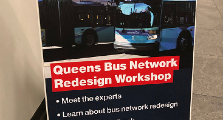MTA Queens Workshop Discusses Planned Bus Route Changes